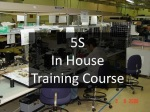 5S Training Course