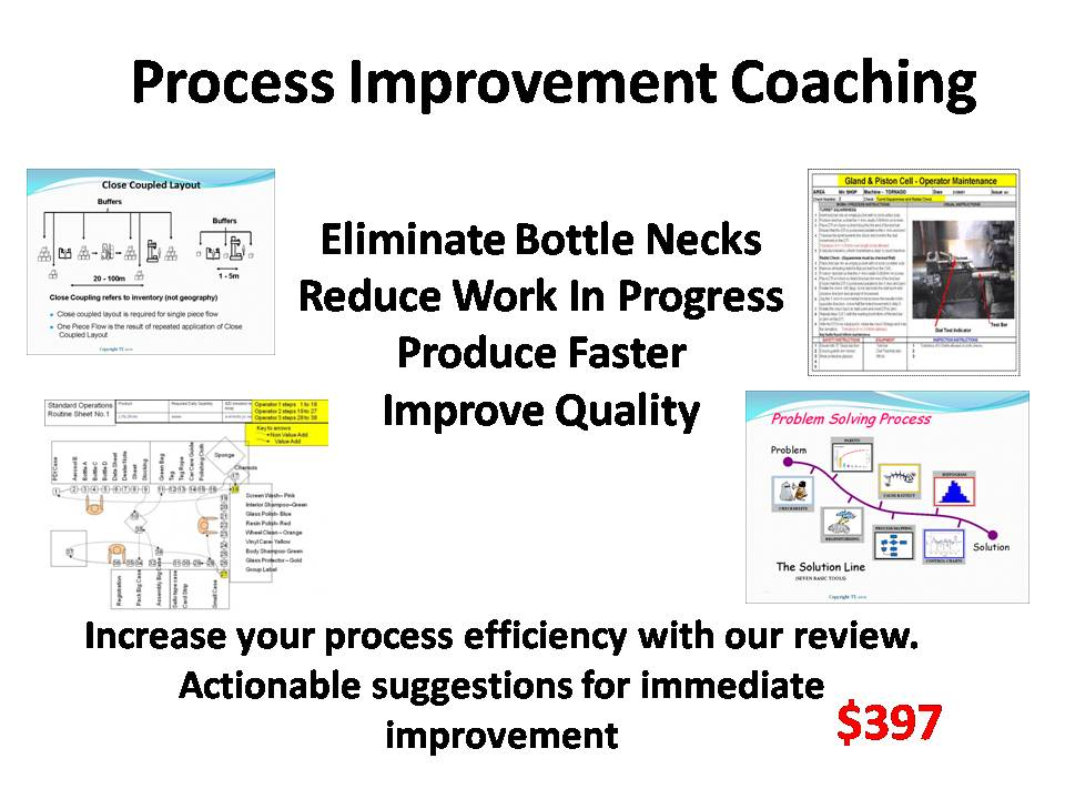 Process Improvement Coaching