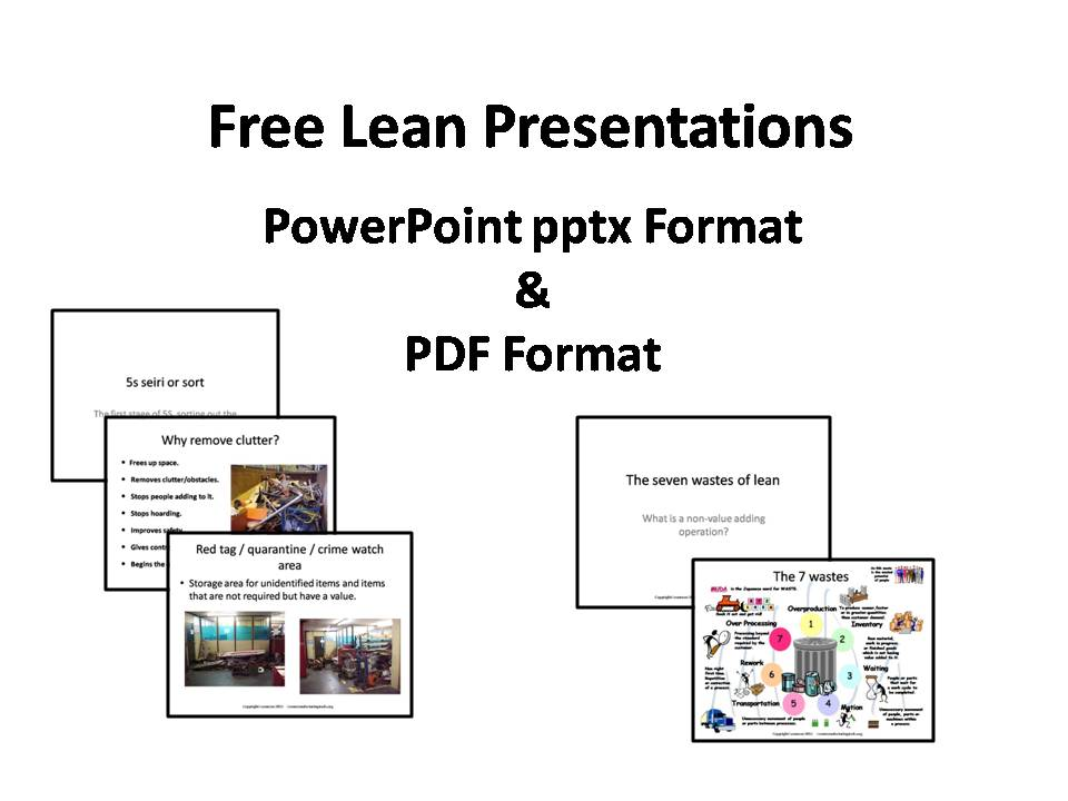 lean training, coaching, and presentations | lean manufacturing tools, Powerpoint templates